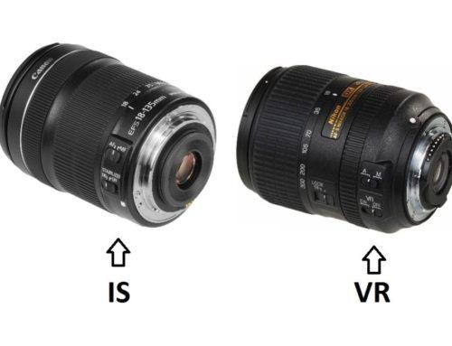 Görüntü Sabitleme veya Titreşim Azaltma Ne İşe Yarar?(IS ve VR)